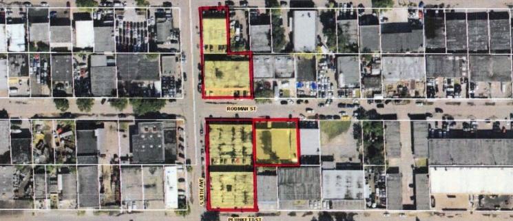Rodman Funston Plunkett 5 Building Warehouse Portfolio-aerial